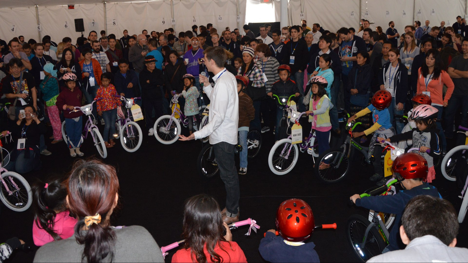 "Picture from ""Bikes for Burma"" event"